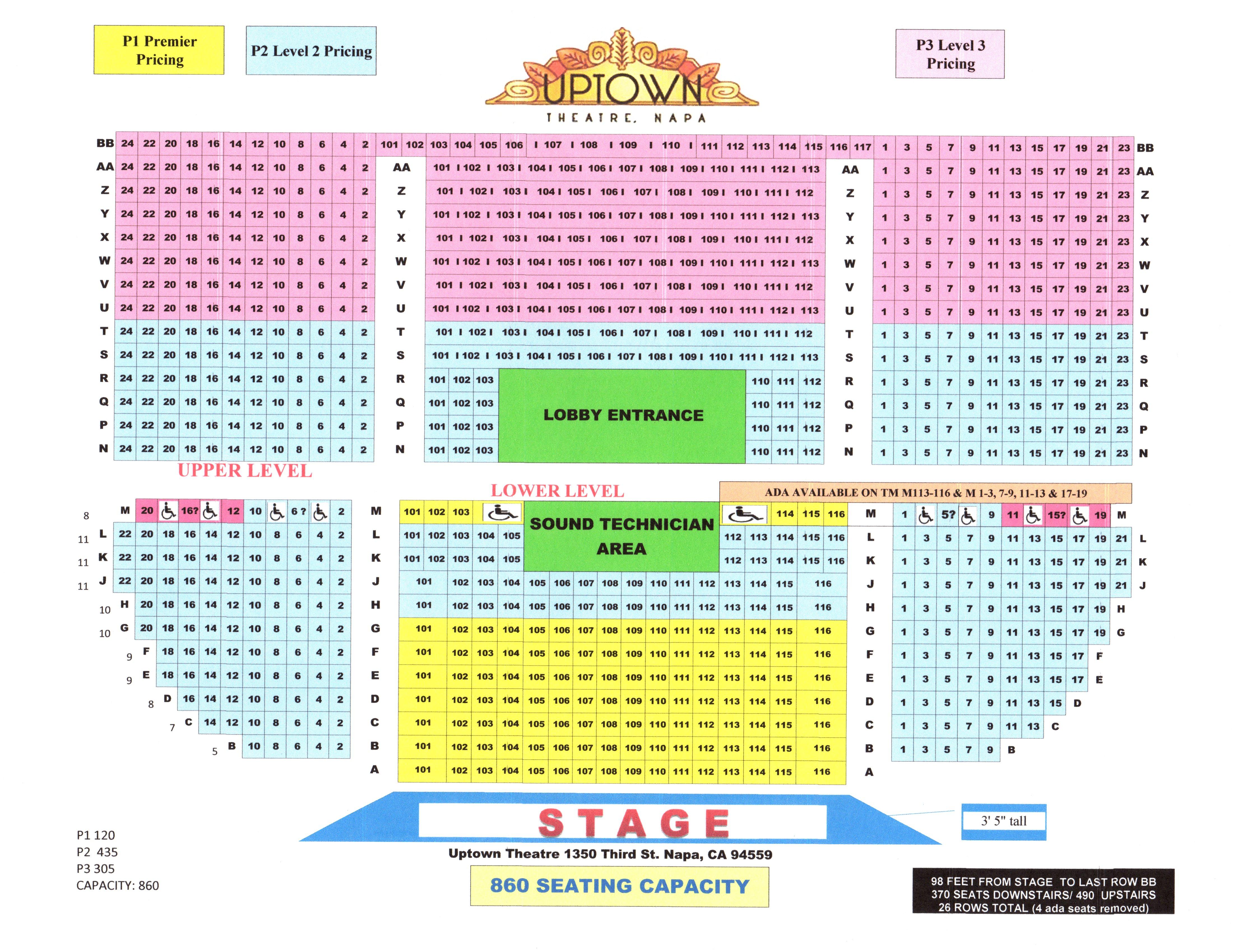Seating Chart 2015